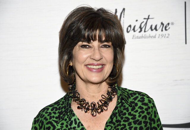 FILE - Honoree Christiane Amanpour attends Variety's Power of Women in New York on April 5, 2019. Amanpour says she regrets a comment equating Donald Trump's presidency with Kristallnacht, an attack on Jews in Nazi Germany seen historically as the launch of the Holocaust. Amanpour said on her weekday program that airs on PBS and CNN International that the Nazis were assaulting 'fact, knowledge, history and truth.' She said Trump attacked the same values. (Photo by Evan Agostini/Invision/AP, File)
