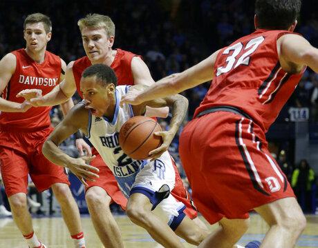 Davidson Rhode Island Basketball