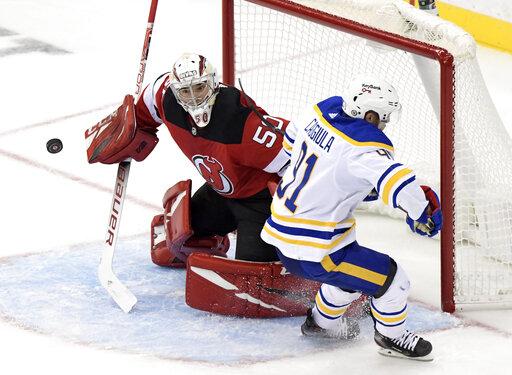 Sabres Devils Hockey
