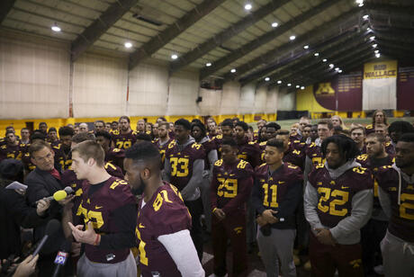 Minnesota Players Punished Football