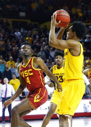USC Arizona St Basketball