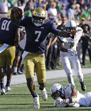 Brandon Wimbush, LaDarius Wiley