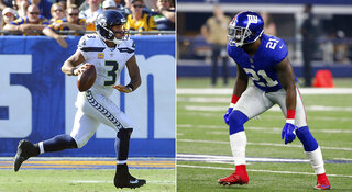 Seahawks Giants Football