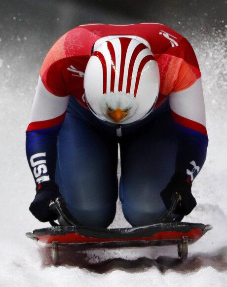 APTOPIX Pyeongchang Olympics Skeleton