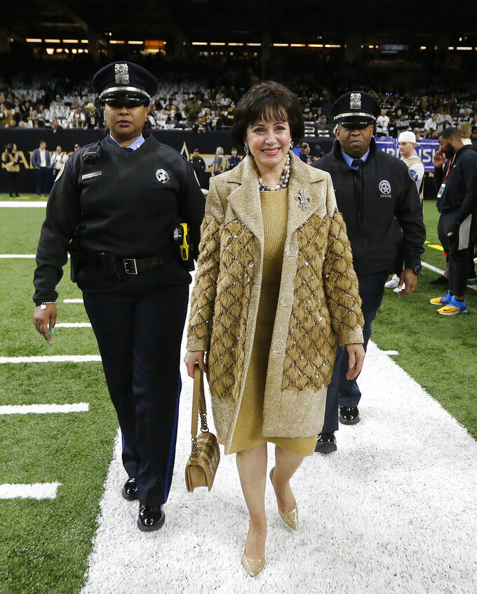 Saints owner vows to pursue changes in NFL policies