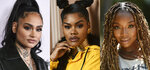 This combination photo shows R&B female artist Kehlani, from left, Teyana Taylor and Brandy, who were not nominated for a Grammy on Tuesday. (AP Photo)