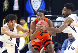 P12 Oregon St Washington Basketball