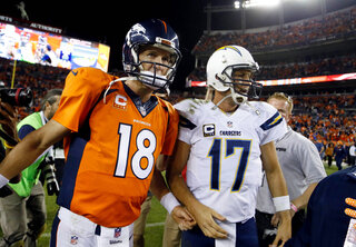 Peyton Manning, Philip Rivers