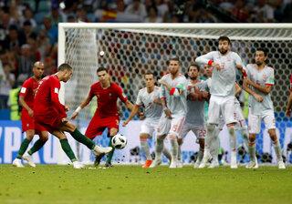 APTOPIX Russia Soccer WCup Portugal Spain
