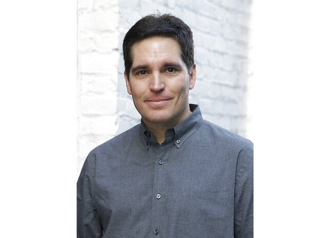FILE - In this file photo taken March 23, 2015, Jason Kilar poses for a photo in San Francisco.  Kilar, the founding chief executive of Hulu and a former Amazon senior vice president, has been named CEO of WarnerMedia, the company announced Wednesday. (AP Photo/Eric Risberg, File)