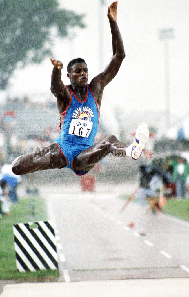 Watchf AP S RUN IN USA APHSL50295 USA Olympic Qualification Carl Lewis