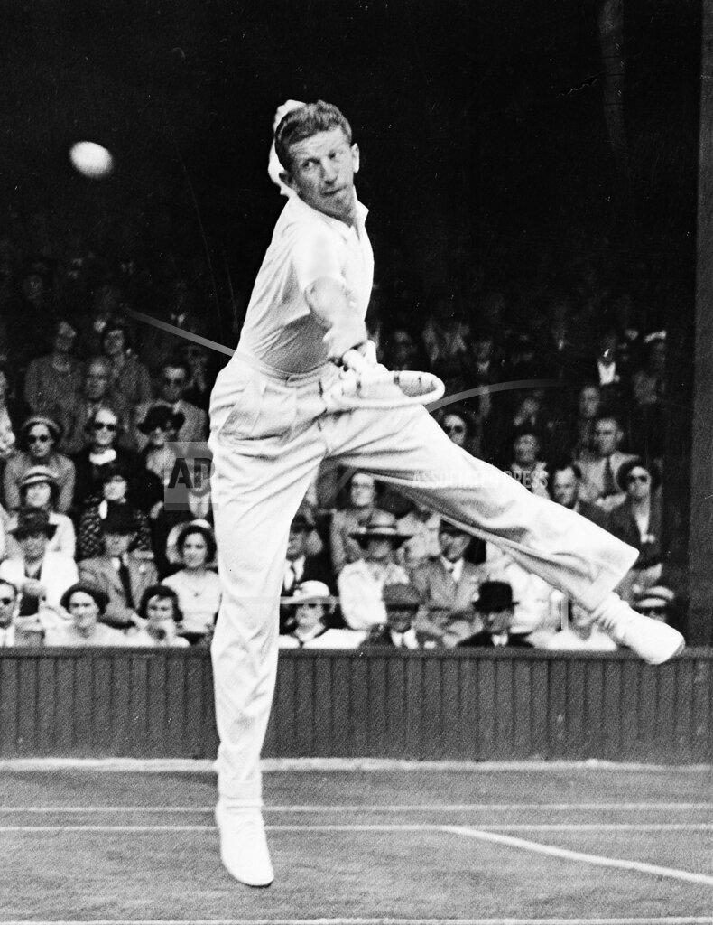 Associated Press Sports England Tennis WIMBLEDON BUDGE HUGHES