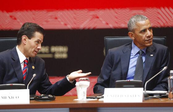 Barack Obama, Enrique Pena Nieto