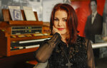 In this Feb. 21, 2014 file photo, Priscilla Presley stands in the