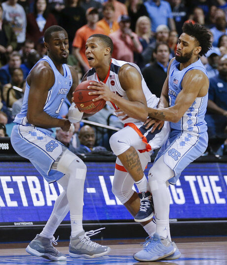 ACC North Carolina Virginia Basketball