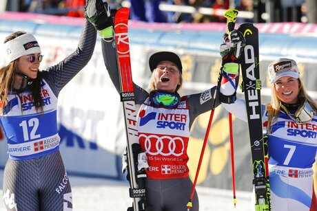 APTOPIX Italy Alpine Skiing World Cup