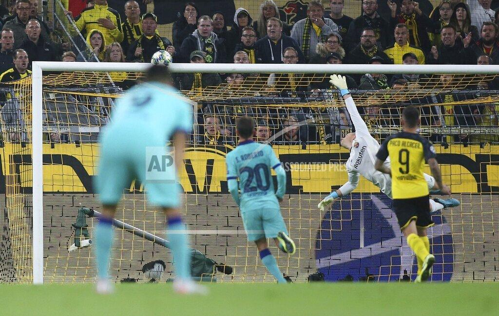 firo: 17.09.2019, Football, Season 2019/2020, Champions League, Group stage, Borussia Dortmund - FC Barcelona,