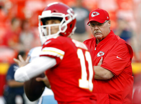 Andy Reid, Alex Smith