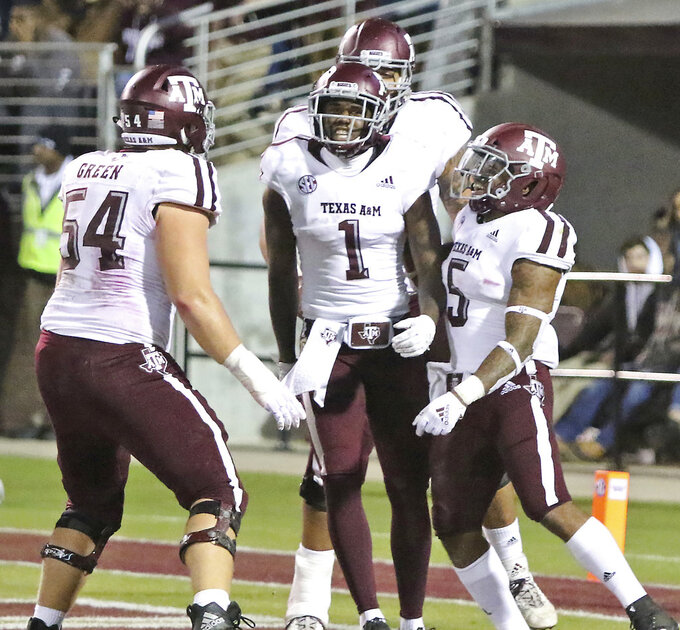 Mississippi State upsets No. 16 Texas A&M, 28-13