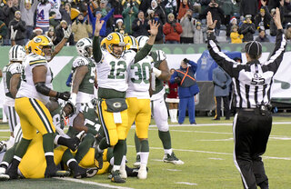 Packers Jets Football