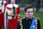 In this image released by Netflix, Josh O'Connor portrays Prince Charles in a scene from the third season of