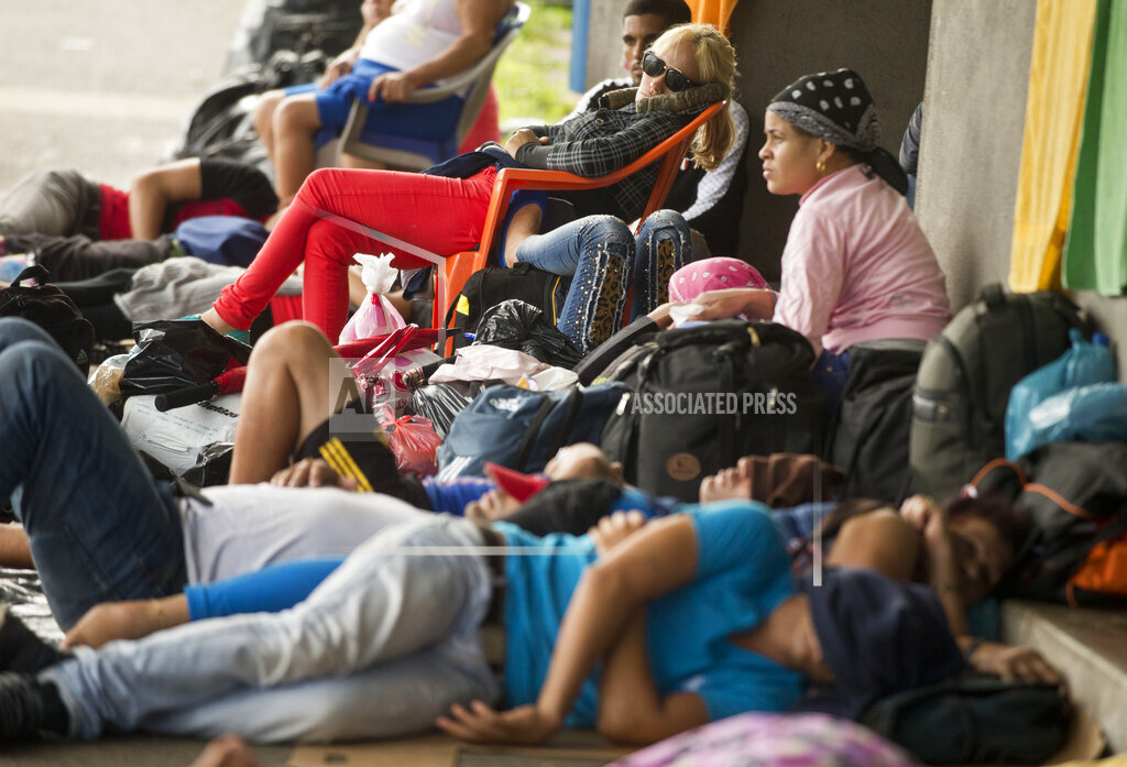 Costa Rica Nicaragua Cuban Migrants