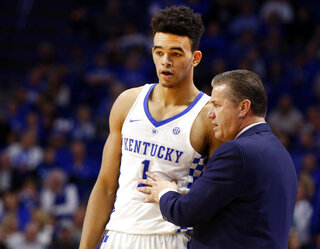 Sacha Killeya-Jones, John Calipari
