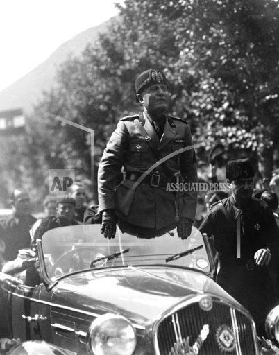 Italy Benito Mussolini