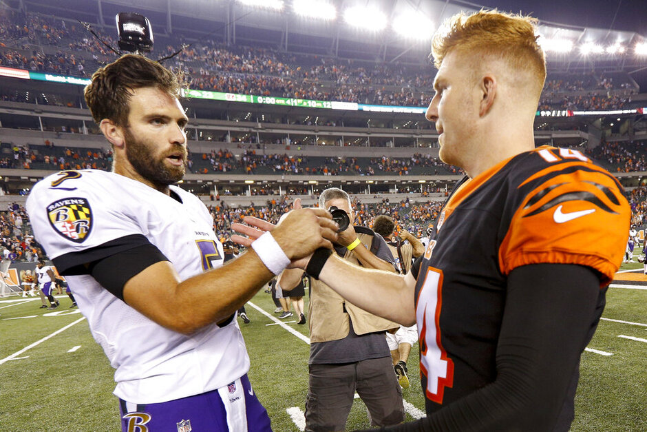 Andy Dalton, Joe Flacco