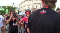 Cycling La Vuelta 21 Reaction