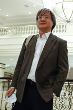 In this picture taken Thursday, July 2, 2020, Steven Gan, editor-in-chief of Malaysiakini online news portal arrives at a district court in Putrajaya, Malaysia, Monday, July 13, 2020. Attorney General Idrus Harun, who was appointed by a new government that took power in March, filed contempt proceedings against Malaysiakini and Gan over comments made by five readers on its portal last month that allegedly tarnished the judiciary. (AP Photo/Vincent Thian)