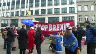Belgium Brexit Protest