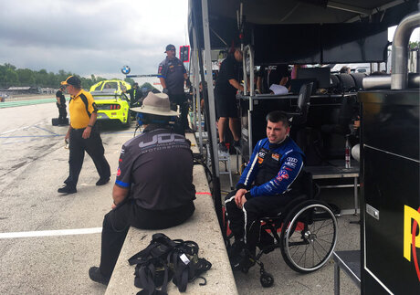 IMSA Paralyzed Racer Auto Racing