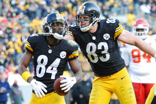 Antonio Brown, Heath Miller
