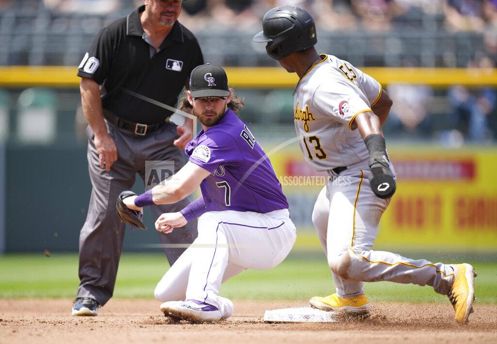 Pirates Rockies Baseball