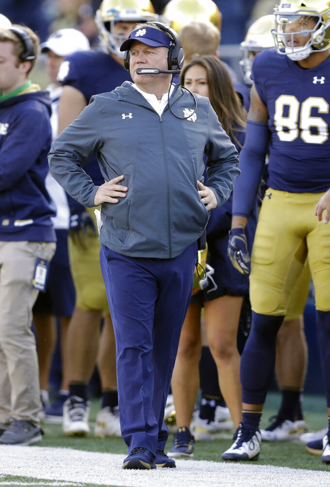 Notre Dame's Kelly announces 23-player class