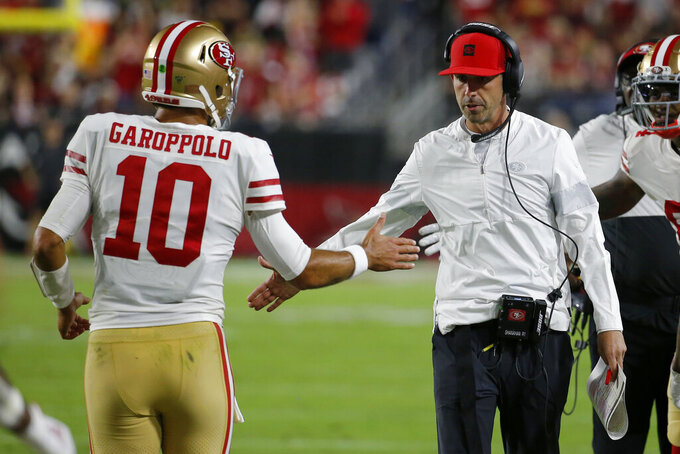 49ers reach midpoint at 8-0 just 2 years after 0-8 start