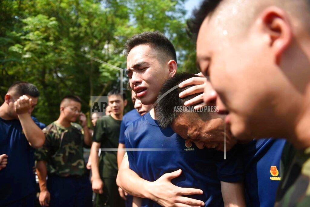 CHINA CHINESE ZHEJIANG HUZHOU SACRIFICED FIREMAN HERO ACCIDENT