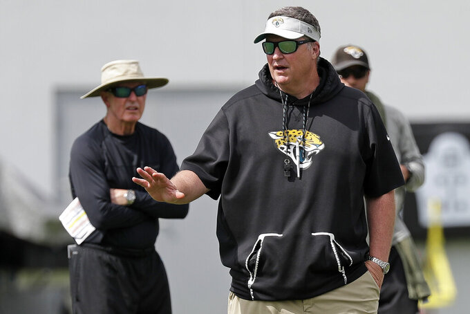 Jaguars don't expect Robinson, Lee to play in season opener