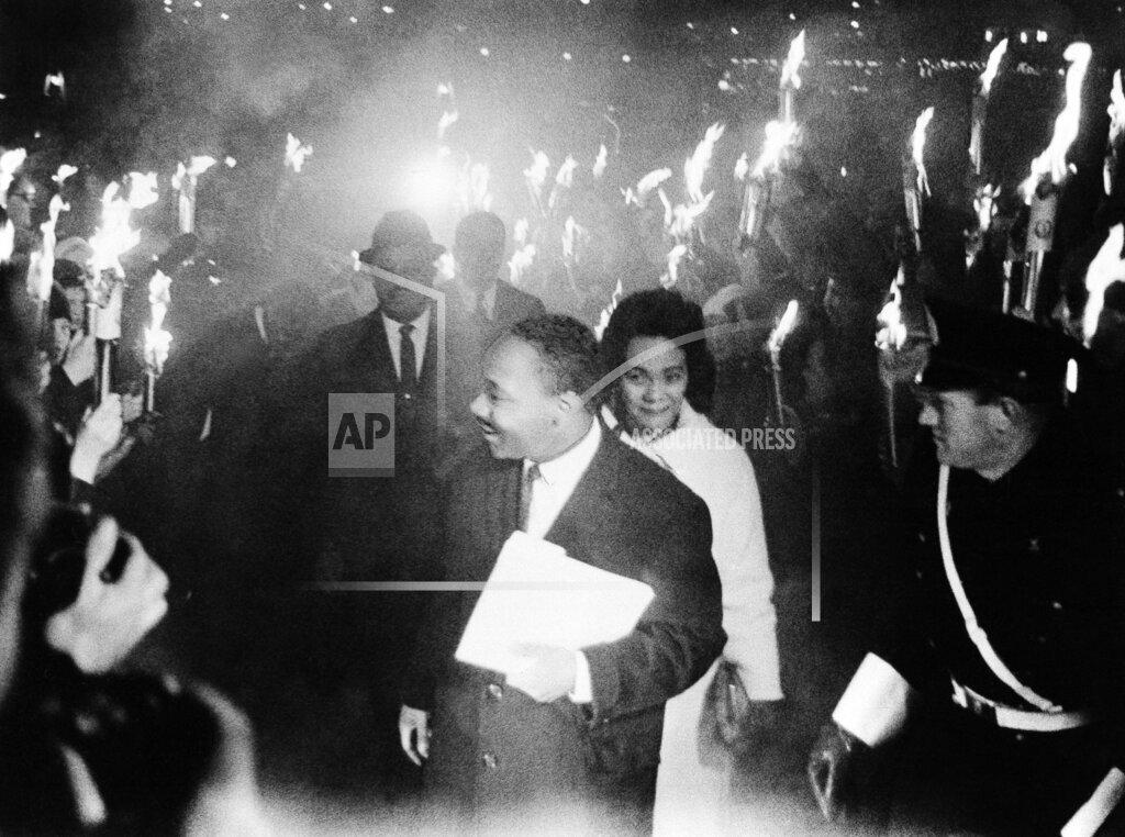 Watchf AP I   NOR APHS341546 Nobel Prize MLK 1964