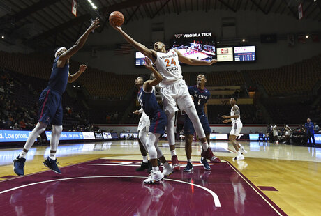 South Carolina St Virginia Tech Basketball