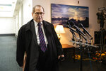 House Judiciary Committee Chairnam Jerrold Nadler, D-N.Y., leaves at the conclusion of a House Democratic Caucus meeting on Capitol Hill in Washington, Tuesday, Oct. 22, 2019. (AP Photo/Manuel Balce Ceneta)