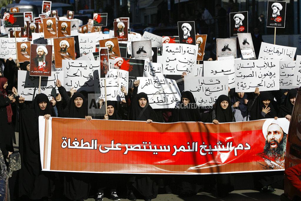 Mideast Lebanon Saudi Arabia