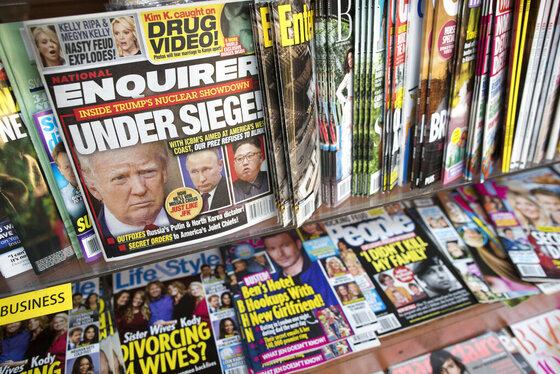 National Enquirer-Sale