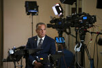 Rep. David Cicilline, D-R.I., pauses during a television news interview at the Capitol in Washington, Tuesday, July 16, 2019. Cicilline is the chairman of the House Judiciary Subcommittee on Antitrust, Commercial and Administrative Law and is a key figure in the debate over whether technology giants like Facebook and Google should be broken up. (AP Photo/J. Scott Applewhite)