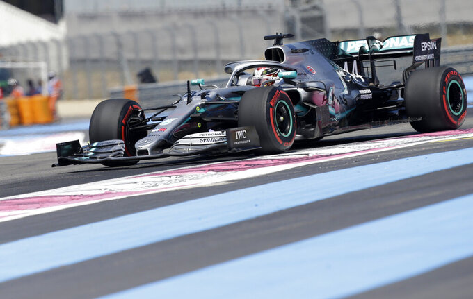 Bottas ahead of Hamilton in 2nd practice for French GP
