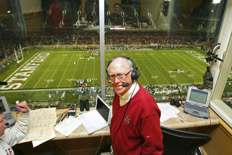 Obit Stanford Sports Announcer