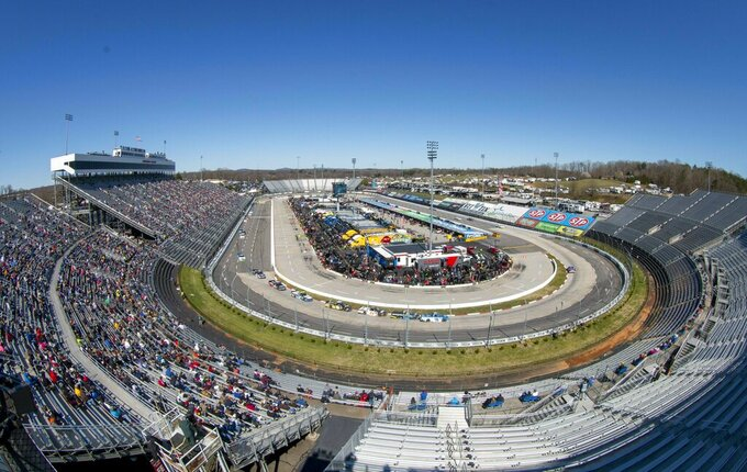 Martinsville Speedway lands tripleheader playoff weekend