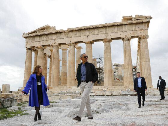 Barack Obama, Eleni Banou,