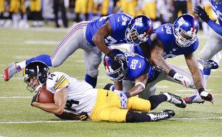 Steelers Giants Football